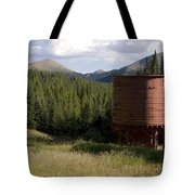 Rocky Mountain Water Tower Tote Bag