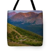 Rocky Mountain Wilderness Tote Bag