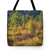 Rocky Mountains Autumn Tote Bag