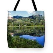 Rocky Mountains Majesty Tote Bag