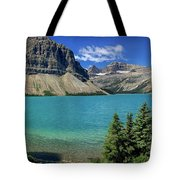 Rocky Mountains Panorama Tote Bag