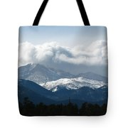 Rocky Mts Mtn M 208  Tote Bag