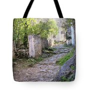 Rocky Pathway Tote Bag