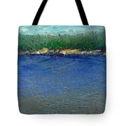 Rocky Point Dream At Bass Lake Tote Bag