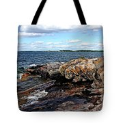 Rocky Point - Wreck Island Tote Bag