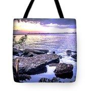 Rocky River Shore Tote Bag