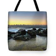 Rocky Seascape Tote Bag