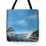 Rocky Shores Tote Bag