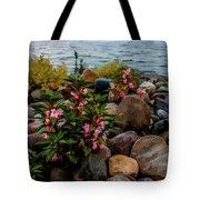 Rocky Shores Of Lake St. Clair- Michigan Tote Bag