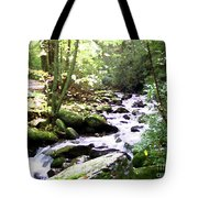 Rocky Stream 1 Tote Bag