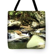 Rocky Stream 5 Tote Bag