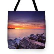 Rocky Sunrise Tote Bag