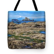 Rocky Washington Coast Of The Pacific Tote Bag