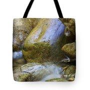 Rocky Water Closeup 2 Tote Bag