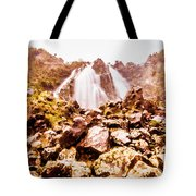 Rocky Water Wilderness Tote Bag