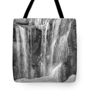 Rocky Waterfall Tote Bag