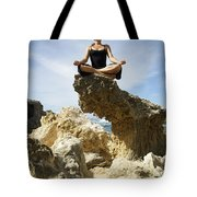 Rocky Yoga Tote Bag