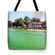 Rod And Reel Pier 360 Degrees Tote Bag
