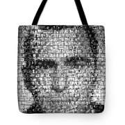 Rod Serling Twilight Zone Mosaic Tote Bag