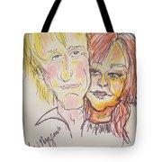 Rod Stewart And Cyndi Lauper Tour 2017 Tote Bag