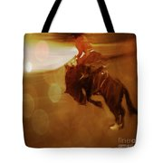Rodeo Abstract Tote Bag