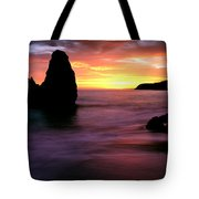 Rodeo Beach At Sunset, Golden Gate Tote Bag