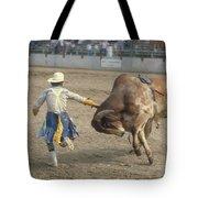 Rodeo Clown Tote Bag
