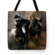 Rodeo Painting Tote Bag