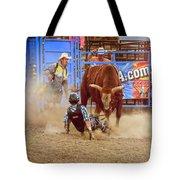 Rodeo Rider Down Tote Bag
