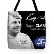 Rodger Clarke Tote Bag