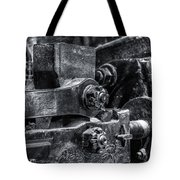 Rods Of Steel Tote Bag