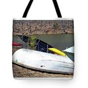 Rowboats Ashore  Tote Bag