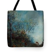 Roedeer In The Morning Tote Bag