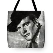 Roger Moore Hollywood Actor Tote Bag