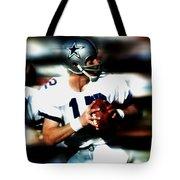 Roger Staubach Tote Bag