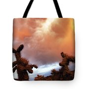 Roiling Sky Tote Bag