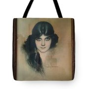 Rolf Armstrongs Dream Girl 1929 Tote Bag
