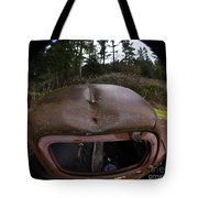 Roll Over Old Truck Tote Bag