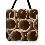 Rolled Steele Tote Bag