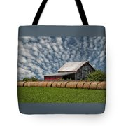 Rolled Up - Hay Rolls And Barn Tote Bag