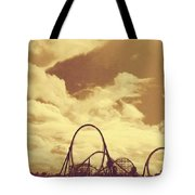 Roller Coaster Rides Tote Bag