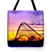 Rollercoaster Of Life Tote Bag