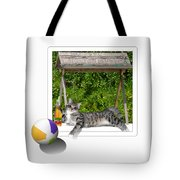 Rolling Beach Ball  Tote Bag