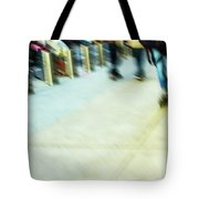Rolling Blading In Nyc Tote Bag