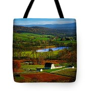 Rolling Countryside Tote Bag