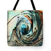 Rolling Downhill Tote Bag