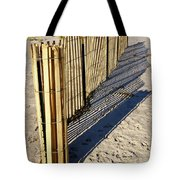 Rolling Fence Tote Bag