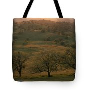 Rolling Foothills Of The Sierra Nevada Tote Bag