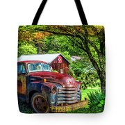 Rolling For Jesus Tote Bag