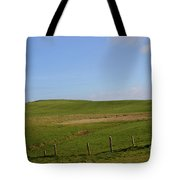 Rolling Hills And Fields Along The Cliff's Of Moher Tote Bag